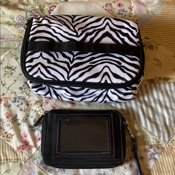 Wallet and cosmetics bag
